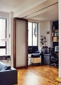 can i make a multi fold room divider out of wardrobe doors