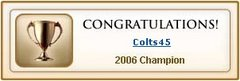 2007 NFL Saskatoba Fantasy Football Champion of the Prairies