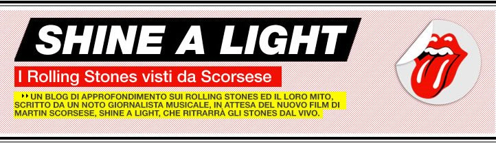Shine a Light - I Rolling Stones visti da Scorsese