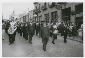 BANDA DE MÚSICA DE BAEZA. Director: D. Gerónimo Morales García