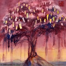 Another Prayer Tree Painting