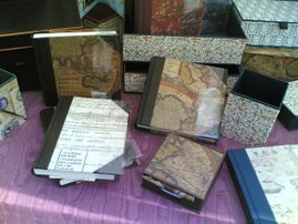 quaderni in pelle e carta rilegati  a mano