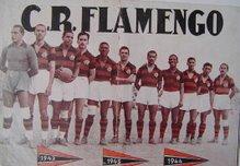 O 1º Tri campeonato do Flamengo