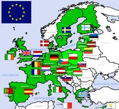 europawerkstatt politische karte europas