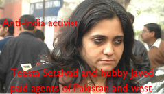 Profile of Anti-India activist
