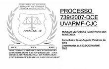 PROCESSO 739/2007