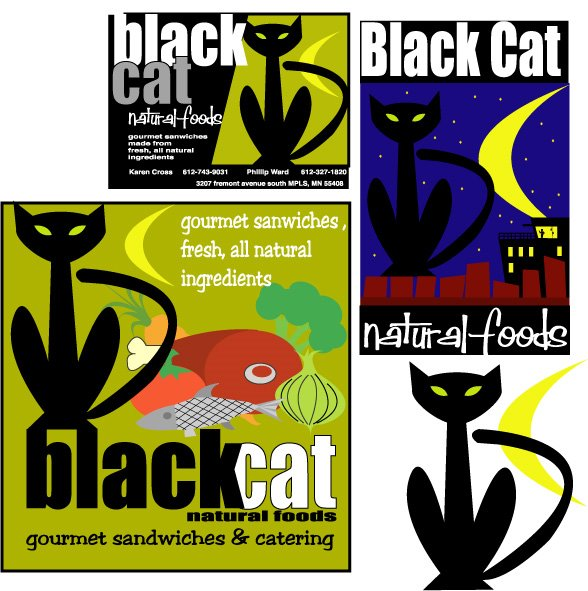 black cat natural foods -- twin cities