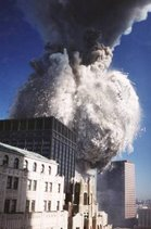 South Tower Pulverization