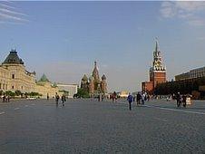 LA PLAZA ROJA DE MOSCU