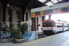 Interior de la estación de la RENFE