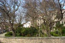 Jardin de San Carlos. Visto desde el hospital Abente y Lago