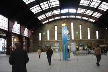 Estación de la RENFE, interior