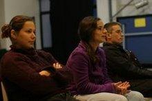 Na foto Alexandra Viegas , Paula Perdigão e Filipe Correia