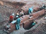 Arqueología histórica en el casco histórico de Santiago