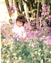 Flower Faerie disguised as human child