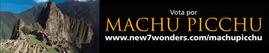 Vota por Machu Pichu