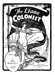 New Llano Colonist from the Archives
