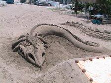 Figura en la arena