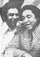 Johnny Mathis e Agostinho dos Santos
