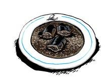 A seguir um arroz de lampreia