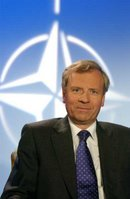 Jaap de Hoop Scheffer, Rīga Summit, 29 November 2006, Please credit NATO photos