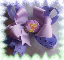The much sought after bottle cap bows