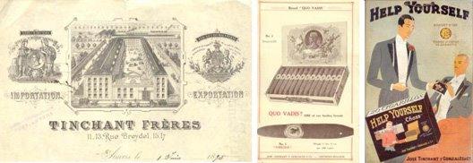 Histoire des fabriques de cigares TINCHANT