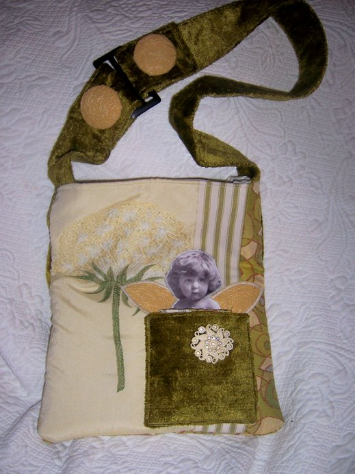 garden fairy purse