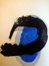 Azul y negro