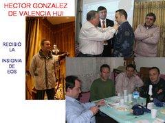HECTOR GONZALEZ, de VALENCIA HUI insignia de EOS