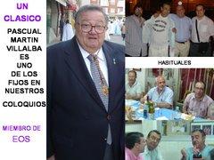 PASCUAL MARTIN VILLALBA MEDINA UN CLASICO EN LOS COLOQUIOS DE EOS