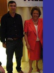 LA ALCALDESA DE VALENCIA RITA BARBERÁ FUE PREGONERA DE LA SEMANA SANTA MARINERA EN 1997