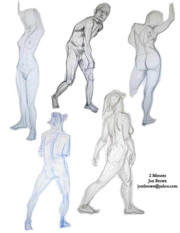 2 minute poses 2