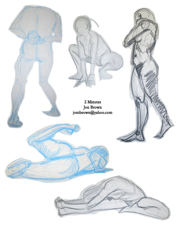 2 minute poses 3