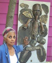 Artist Rhonda Bristol