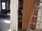 Removing beadboard from back of china hutch