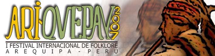 ARIQUEPAY : I FESTIVAL INTERNACIONAL DE FOLCLOR EN AREQUIPA