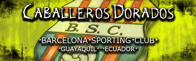 Caballeros Dorados del Barcelona S.C. de Guayaquil