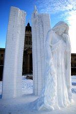 Snow Sculpture 1 - Winnipeg