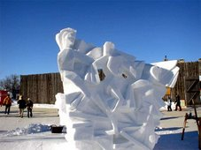 Snow Sculpture - Winnipeg