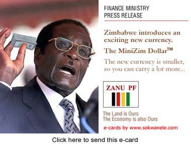 New Mini Currency for Zimbabwe