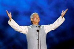 Professor Yunus at Nobel Concert Stage