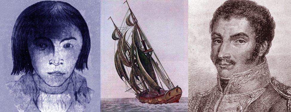 Luis Aury y Simon Bolivar