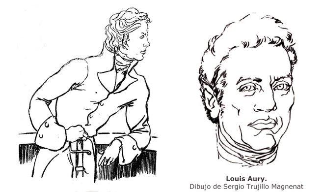 Aury por Trujillo 1818 y 1821