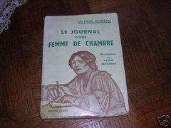 """""""Le Journal d'une femme de chambre"""", illustré par Maxime Dethomas, 1937"""