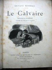 """""""Le Calvaire"""", illustré par Jeanniot"""