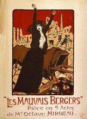 """Affiche des """"Mauvais bergers"""", par Malterre"""