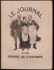 """""""Le Journal d'une femme de chambre"""", illustré par Edelmann, 1932"""