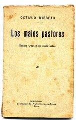 """Traduction espagnole des """"Mauvais bergers"""", 1913"""