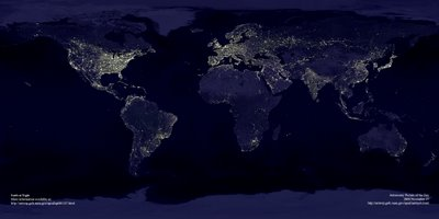 EARTH NIGTH - NASA
